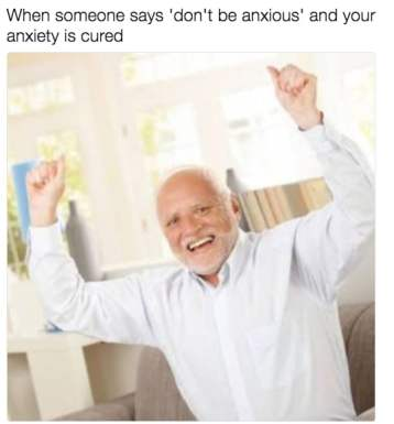 dont be anxious
