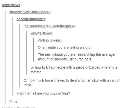 weird writers